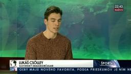 HOSTIA V ŠTÚDIU: N. Rajičová a L. Csolley o úspechoch krasokorčuľovaní