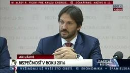 TB R. Kaliňáka, T. Gašpara a J. Málika o vyhodnotení výsledkov za rok 2016
