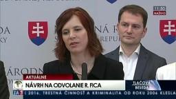TB I. Matoviča, V. Remišovej, K. Galeka a J. Kiššovej o návrhu na vyslovenie nedôvery R. Ficovi