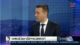 Ohrozí dlh VŠZP pacientov? / SaS stráca Jozefa Mihála / Témy koalície a opozície / O. Žarnay opúšťa OĽaNO-NOVA / Tvrdý slovník politikov