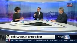 """30 minút s Bélom Bugárom/Práca versus kvalifikácia/Dohra v kauze """"Čistý deň""""/Jasle po novom/Problémy s pokutami"""