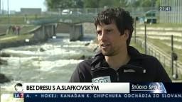 Štúdio šport s Alexandrom Slafkovským