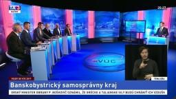 Voľby do VÚC - Banskobystrický samosprávny kraj