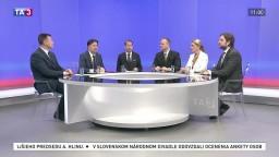 Nová vláda kontra predčasné voľby / Efektívnejšie s verejnými financiami / Alojz Hlina obhájil post predsedu