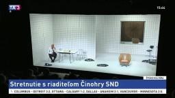 Stretnutie s riaditeľom činohry SND / Brodsky Quartet / Rok 2017 v SFÚ / SNG: Nástenky k osmičkovým výročiam