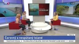 ŠTÚDIO TA3 Za hranicami: L. Drastichová a K. Domáňová o Islande
