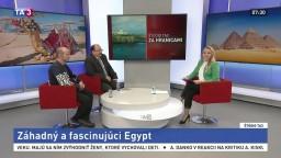 ŠTÚDIO TA3 Za hranicami: J. Hudec a J. Okál o Egypte