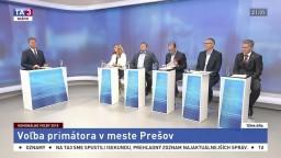 Voľba primátora v meste Prešov