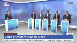 Voľba primátora v meste Nitra