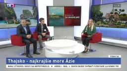 ŠTÚDIO TA3 Za hranicami: M. Ali a J. Zelizňák o Thajsku