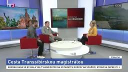 ŠTÚDIO TA3 Za hranicami: M. Šmátrala a M. Tlelka o Transsibírskej magistrále