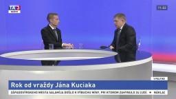 Rok od vraždy Jána Kuciaka / Aktuálne politické dianie