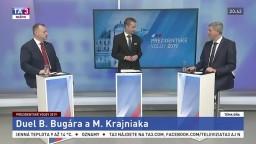 Duel prezidentských kandidátov Bugára a Krajniaka