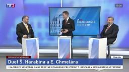 Duel prezidentských kandidátov Harabina a Chmelára