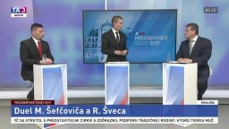Duel prezidentských kandidátov Šveca a Šefčoviča