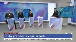 Diskusia kandidátov R. Šveca, J. Zábojníka a I. Zuzulu