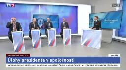 Diskusia kandidátov B. Bugára, M. Daňa, M. Kotlebu a F. Mikloška