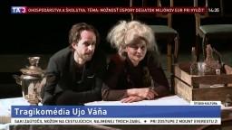 Tragikomédia Ujo Váňa / Dušan Mitana už píše v nebi / Noc literatúry / Koncert venovaný severským autorom / Bratislava ožije digitálnym umením / Rozprávka o šťastnom konci