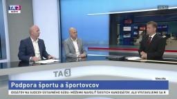 Podpora športu a bývalých športovcov