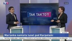 Marianka namieta tunel pod Karpatami
