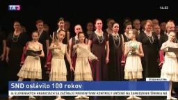SND oslávilo 100 rokov / 100 rokov Opery SND / Maryša po 100 rokoch na doskách SND / Divadelné storočie – stopy a postoje / Ladislav Vychodil v SNG