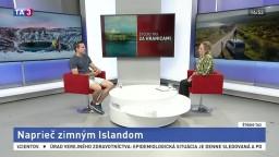 ŠTÚDIO TA3 Za hranicami: J. Orgonáš o zimnom Islande