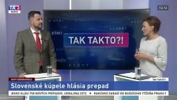 Slovenské kúpele hlásia prepad