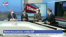 Núdzový stav a opatrenia v Trenčíne / Reforma justície a voľba GP
