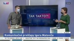 Komunikačné prešľapy Igora Matoviča