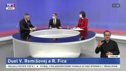 Duel V. Remišovej a R. Fica / Ohrozená kultúra a formy pomoci / Druhá vlna pandémie a rezervy štátu