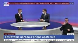 Testovanie národa / Slovensko v krízovom režime / Kritická situácia v Česku
