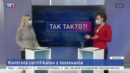 Kontrola certifikátov z testovania