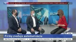 Firmy zvažujú automatizáciu