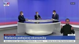 Riešenia padajúcej ekonomiky / Premiérova výzva SaS / Spoločenské a politické nálady