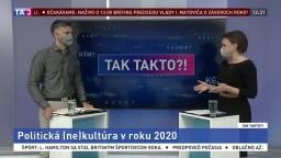 Politická (ne)kultúra v roku 2020