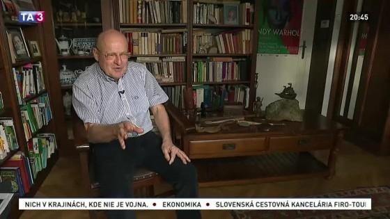 Portrét diplomata a historika Miroslava Musila