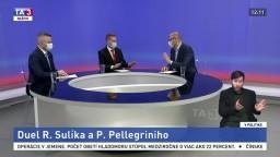 Parlamentný šéf o aktuálnom dianí / Duel R. Sulíka a P. Pellegriniho / Dianie očami strán mimo parlamentu