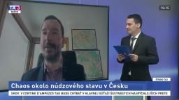 Analytik o núdzovom stave v Česku:  Máme tu takmer občiansku vojnu