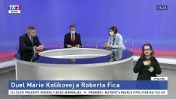 Aktuálne dianie pohľadom premiéra / Duel Márie Kolíkovej a Roberta Fica / Nedostatok vakcín, dôvody a riešenia / Summit lídrov EÚ a elektronická pomoc