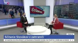 Sčítanie je zatiaľ úspešné, zúčastniť sa musia aj Slováci v zahraničí