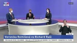Remišová vs Raši / Meškajúce vakcíny a sporný Sputnik V / Európske peniaze počas pandémie / Bugár o aktuálnom dianí
