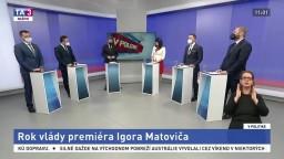 Rok vlády I. Matoviča / Efektivita štátu, nedostatok vakcín