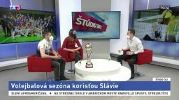 Volejbalovej sezóne dominovala Slávia. Čo bolo základom úspechu?