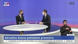 Aktuálne dianie pohľadom premiéra / Duel Borisa Kollára a Juraja Blanára / Diplomatické dusno medzi EÚ a Ruskom / Diskusia o vakcínach a covid passoch