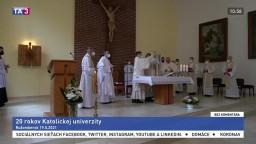 20 rokov Katolíckej univerzity