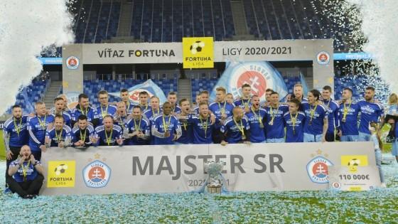 ŠK Slovan Bratislava obhájil titul