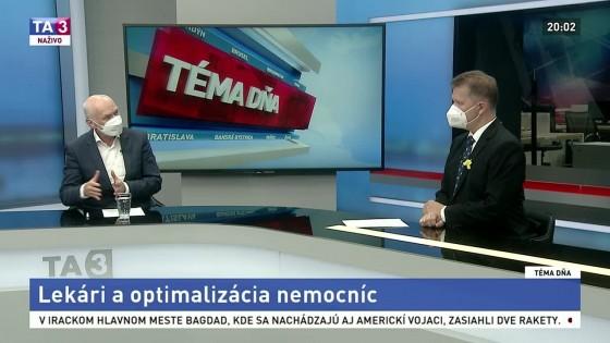 Lekári a optimalizácia nemocníc / Roman Mikulec na pranieri / Kto ochráni chránené územia?