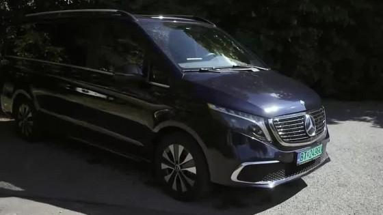 Mercedes Benz EQV jazdí čisto na elektriku a odvezie až sedem osôb