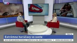 Intenzívne horúčavy pretrvávajú, na Slovensku pribúdajú supertropické dni
