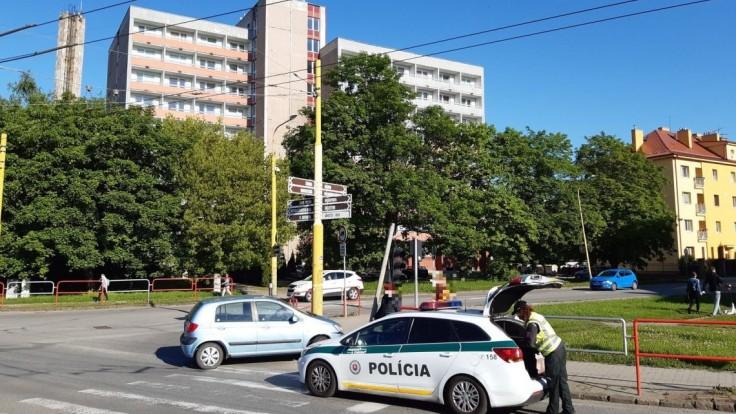 nehoda križovatka Prešov